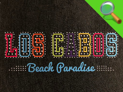 Patch ricamate e in tessuto LOS CABOS
