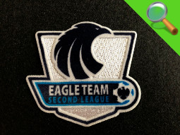 Patch ricamate e in tessuto Eagle Team