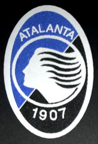 etichetta tessuta per Atalanta