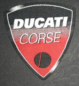 Etichetta termoadesiva Ducati Corse