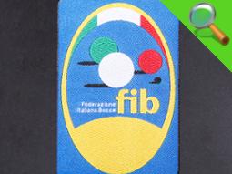 Etichetta tessuta Fib