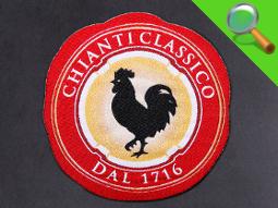 Etichetta tessuta Chianti Classico